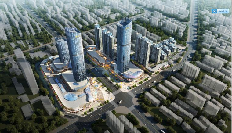 [河南]地标性超高层写字楼SOHO公寓及商业综合体方案(含CAD)_2