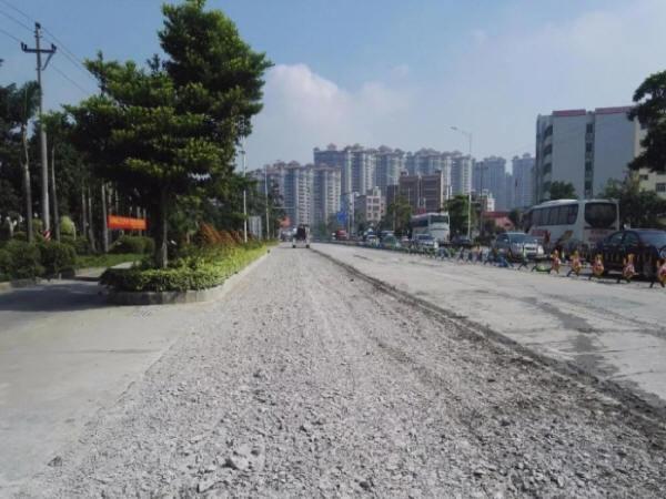 共振碎石化技术在旧水泥混凝土路面改造中的应用