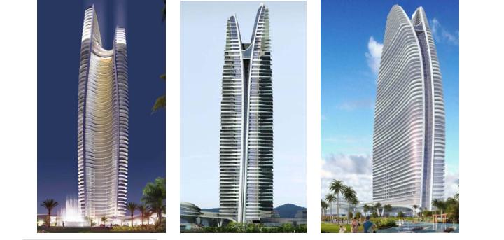 三亚亚特兰蒂斯酒店超高层塔楼结构设计