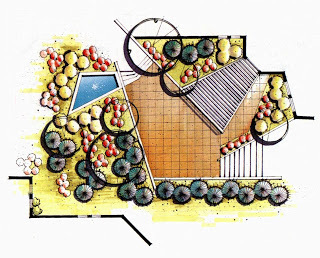 【园林景观设计图集】植物配置平面图89