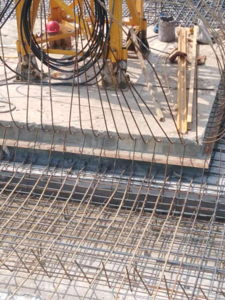 塔吊基础钢筋与地下室基础筏板钢筋应该如何连接