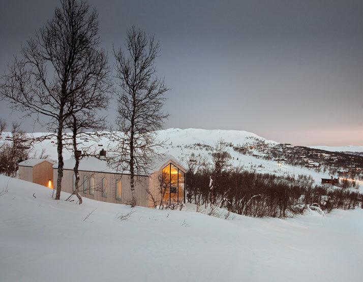 挪威当代山地小屋_8