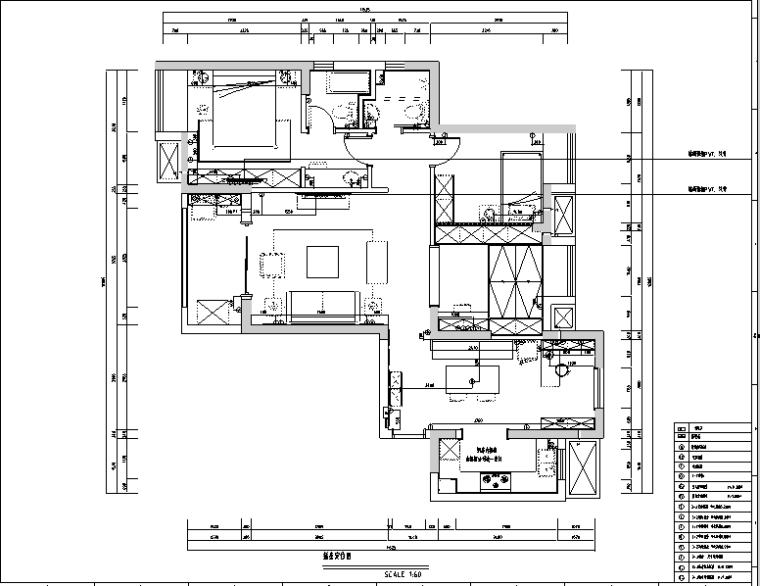 现代美式住宅设计施工图(附效果图)