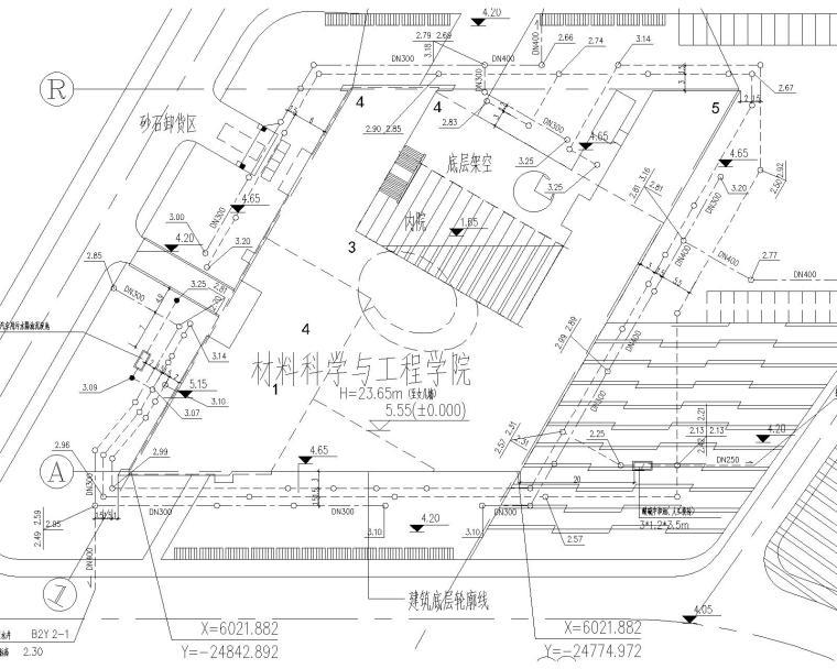 [上海]同济大学嘉定校区材料科学与工程学院大楼给排水施工图