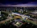 轨道交通高架车站功能的设计研究