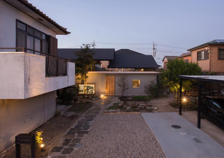 日本木结构的NI住宅
