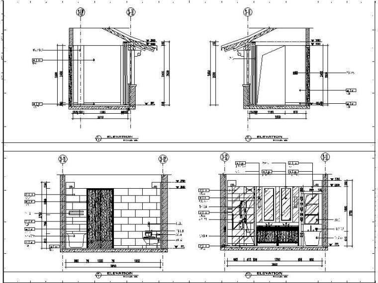 [南京]滨江中式风格会所设计施工图(含效果图)_6
