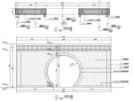 中式景观拱门详图含结构做法