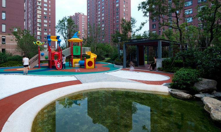 南京朗诗绿色街区住宅景观