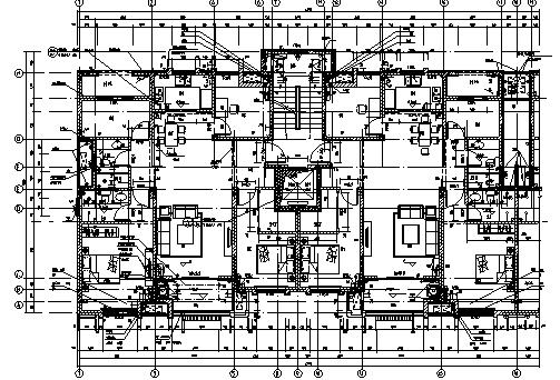 图   5#楼剖面图   5#楼立面图   S1 住宅采用钢筋混凝土抗震墙结构形