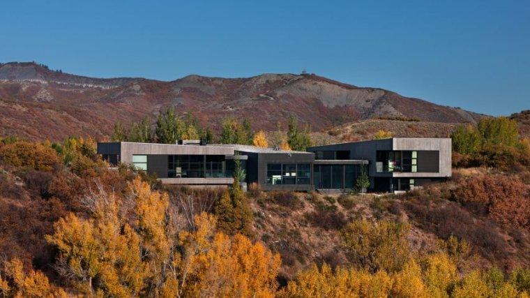 美国一座现代别墅