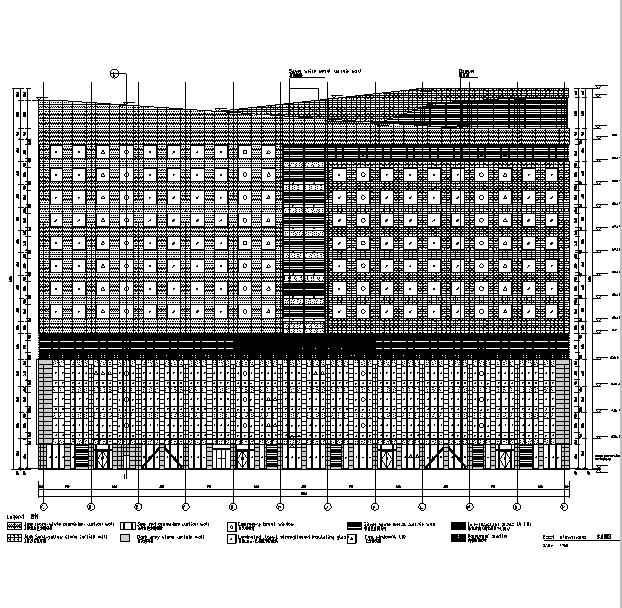 [海南]高层国际医院建筑及水暖电结构全专业(16年审图修改)