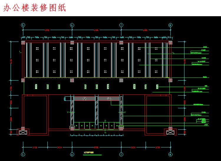 300多套CAD装修施工图纸(家装,工装,节点等)_14