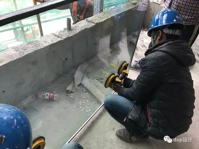 玻璃幕墙与装饰收口问题及施工流程_17