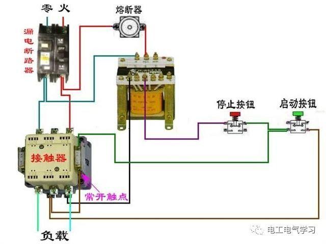 【电工必备】开关照明电机断路器接线图大全非常值得收藏!_46