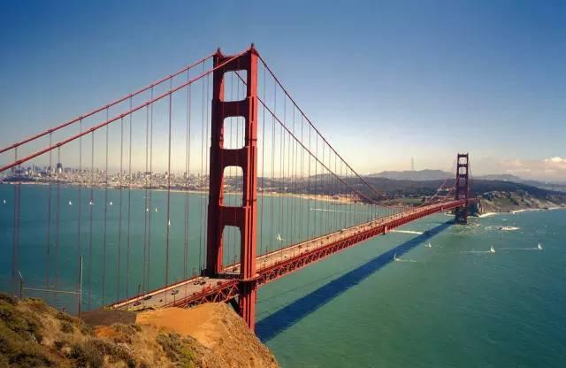 全球50个地标性建筑,认识10个就算你合格!-金门大桥(美国•旧金山).jpg