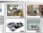 现代简约风格室内设计软装概念方案