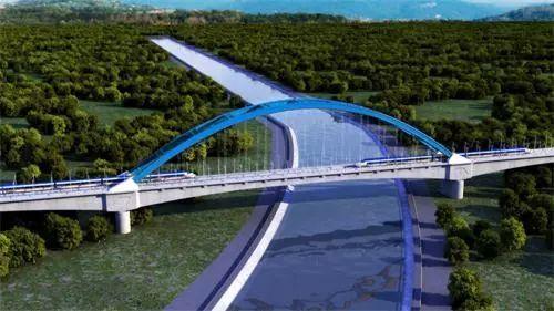 [BIM案例]郑万铁路上跨南水北调特大桥BIM应用