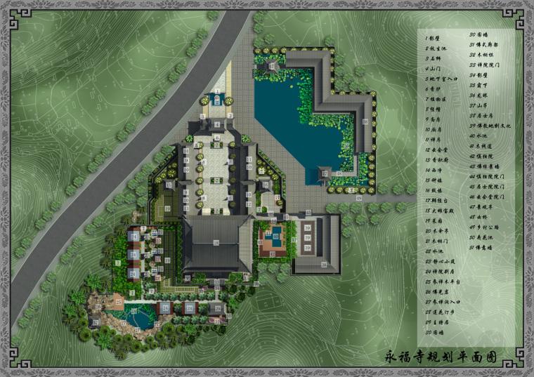 日式禅宗庭园结合禅宗美学设计案例——永福寺_2