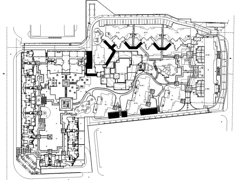 [广东]某雍翠府景观施工图设计全套(包含现场图片+CAD)