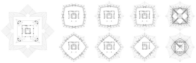 科技大学景观塔平面图(11)