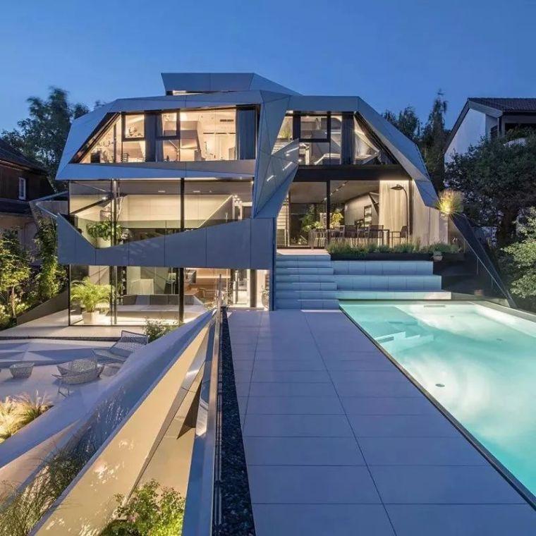 超惊艳的别墅,唯奇才才敢这样设计