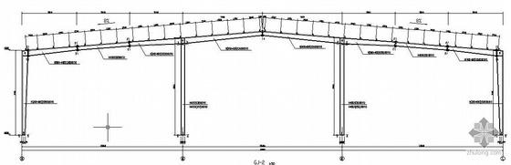 某门式钢架单层厂房全套结构施工图
