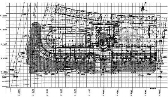 商业街施工图