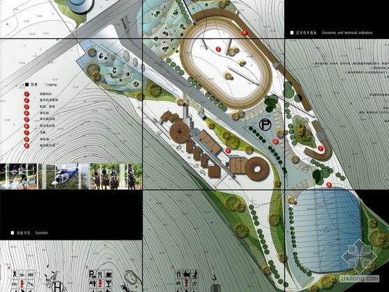 [毕业设计]某休闲俱乐部建筑及环境设计方案图