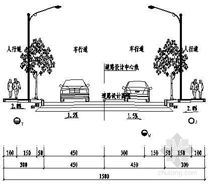 [四川]市政道路给排水管网施工图纸
