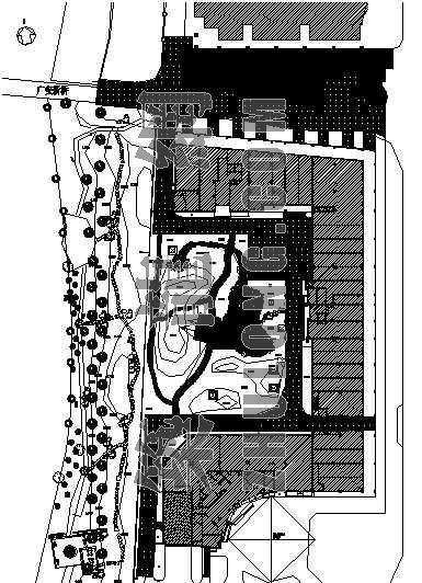 杭州某高档住宅小区庭院绿化施工图