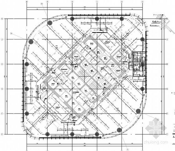 [北京]12万平一类超高层办公楼给排水消防施工图(热交换 水循环)