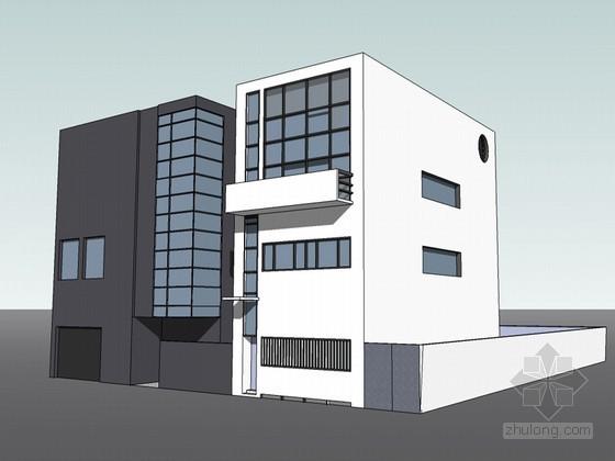吉野特住宅SketchUp模型下载