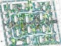 [杭州]现代简约集中式居住区景观规划方案