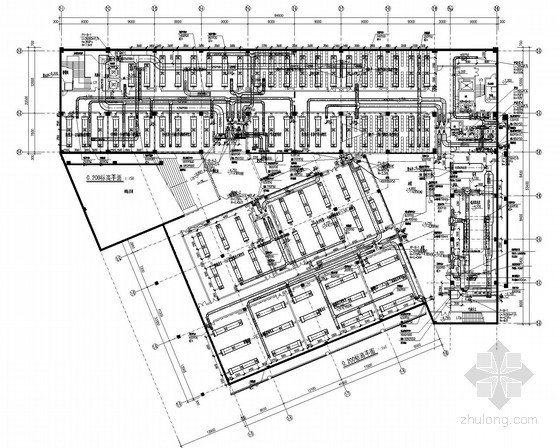 [广东]著名大学校区全套建筑空调通风防排烟系统设计施工图(建筑形式多 含计算书)