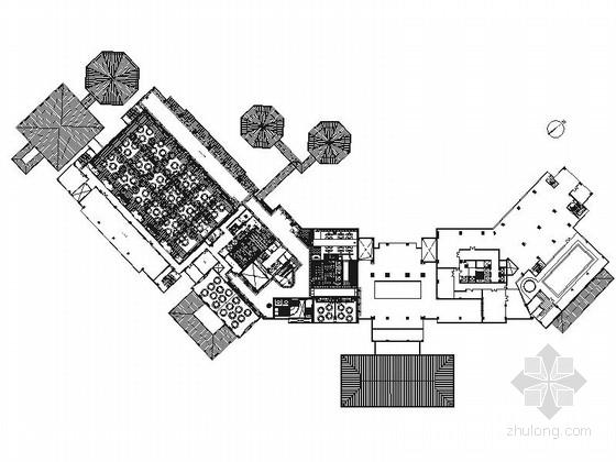 [山东]国际品牌豪华五星级现代酒店室内装修施工图(含实景效果)