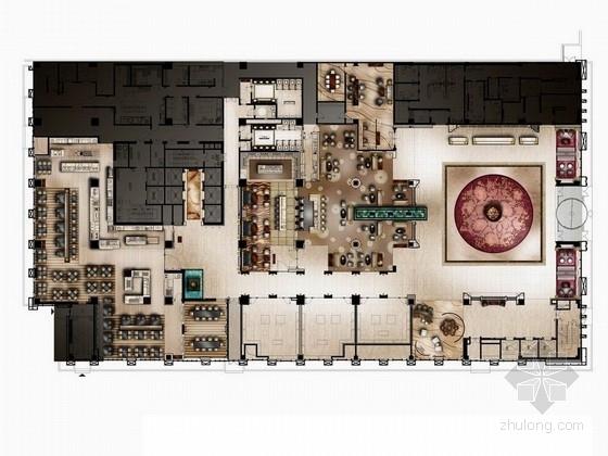 [大庆]全球最顶尖连锁五星级豪华酒店设计方案图