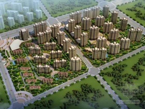 [新疆]高层现代风格住宅区规划设计方案文本(知名建筑设计院)