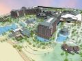 [海南]新中式风格高层滨海度假酒店建筑设计方案文本