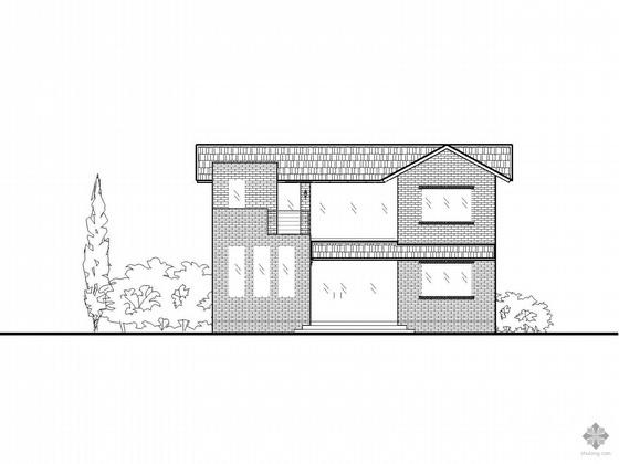 [新农村]二层住宅方案图