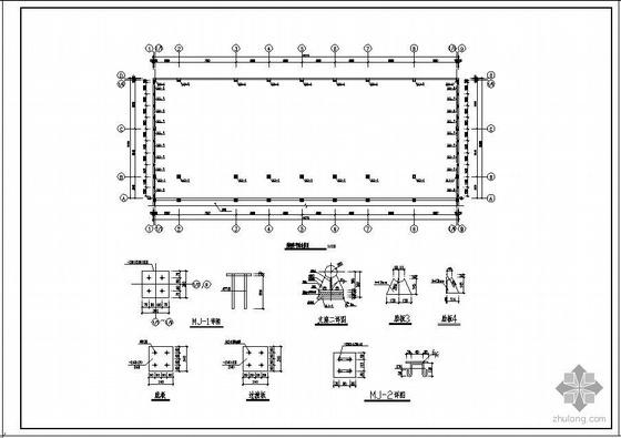 某商务酒店厨房网壳屋顶工程图纸