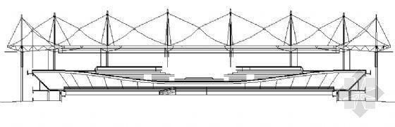 某露天体育馆建筑施工图