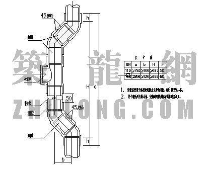 upvc排水管消能装置资料下载-高层排水管消能装置大样图
