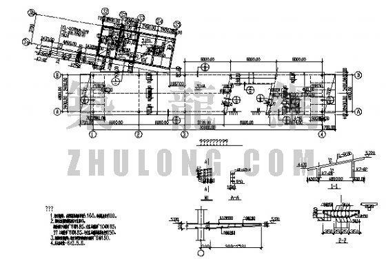 钢结构别墅结构图
