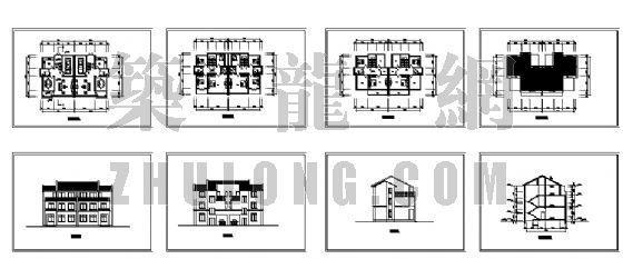 小康农居建筑设计方案3-4
