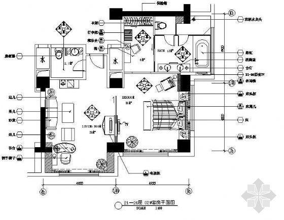 五星酒店大套房室内设计