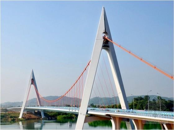 重力式独缆悬索桥实施性施工组织设计(斜吊杆地锚式 申报鲁班奖)