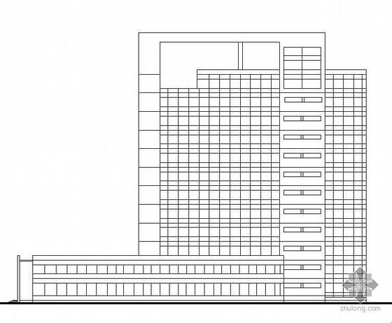 [南昌]某大学科技园十四层办公大楼建筑设计方案(有效果图)