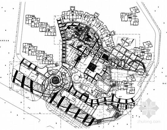 花园小区园林景观工程施工图