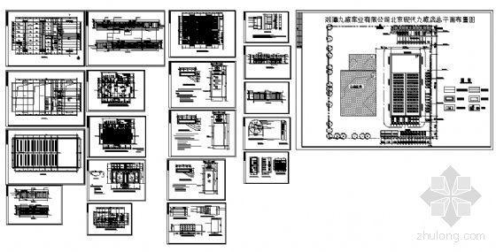 现代汽车某展示中心建筑方案图-4
